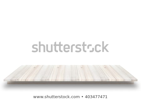 White wooden plank in a perspective stock photo © IMaster