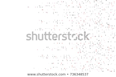 Abstract html code background Stock photo © nasirkhan