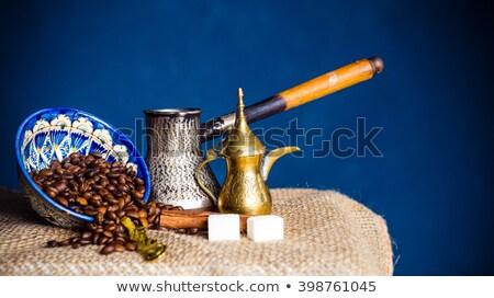 кофе · натюрморт · текстуры · продовольствие · стены · искусства - Сток-фото © phbcz