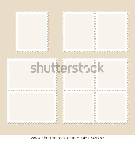 posta · bélyegek · illusztráció · kéz · háttér · posta - stock fotó © orson