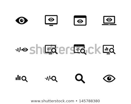 computador · tv · monitor · tela · vetor - foto stock © adamson