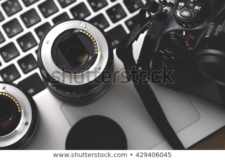 DSLR Digital Camera Lens Stock photo © vichie81