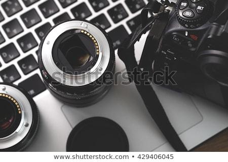 dslr digital camera lens stock photo © vichie81