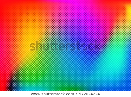 abstract rainbow halftone Stock photo © Ghenadie