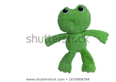 Happy smiling toon frog Stock photo © photocreo