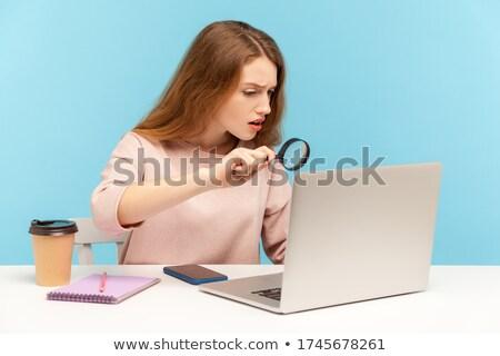 Nosy businesswoman Stock photo © photography33