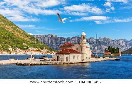 Perast village near Kotor, Montenegro Stock photo © vladacanon