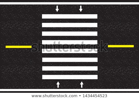 Scheme Of The Streets And Signs Stockfoto © AGfoto