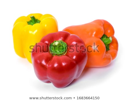 Three yellow bell pepper Stock photo © Givaga
