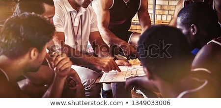 basketball player and coach stock photo © photography33
