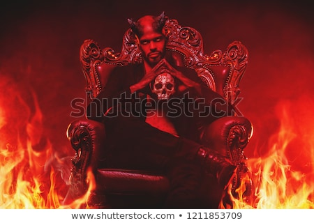 devil man in hell stock photo © curaphotography