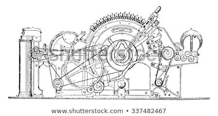 画像 · 古い · 機械 · 作業 · 技術 - ストックフォト © konradbak