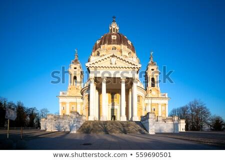Katedry torino Włochy miasta miejskich retro Zdjęcia stock © Spectral