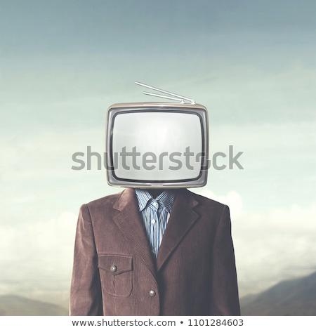 TV head Stock photo © stevanovicigor