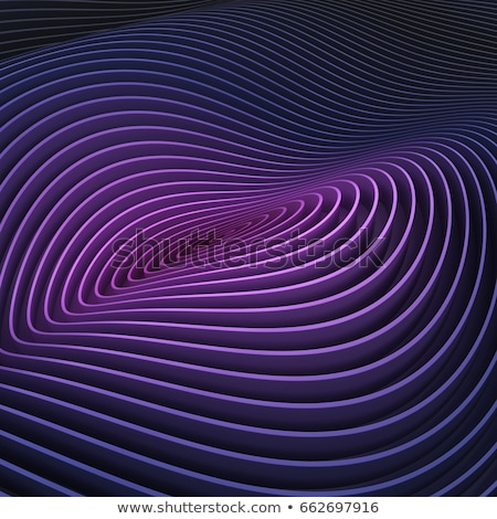 backdrop striped 3d render of lines in purple blue Stock photo © Melvin07