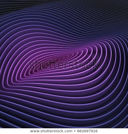 Háttér csíkos 3d render vonalak lila kék Stock fotó © Melvin07