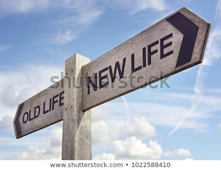 Yeni hayat planlama kâğıt Stok fotoğraf © cosma