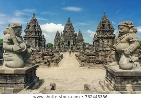 Temple Indonésie java Voyage culte Asie Photo stock © travelphotography