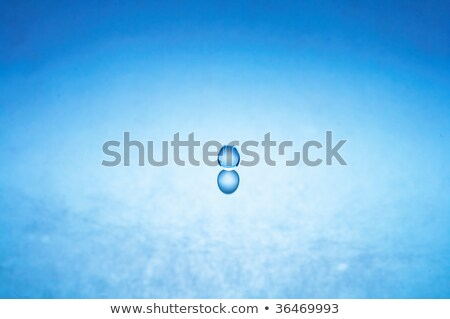 water drop (image 6 of 51, I have all phases of falling drop) Stock photo © 26kot