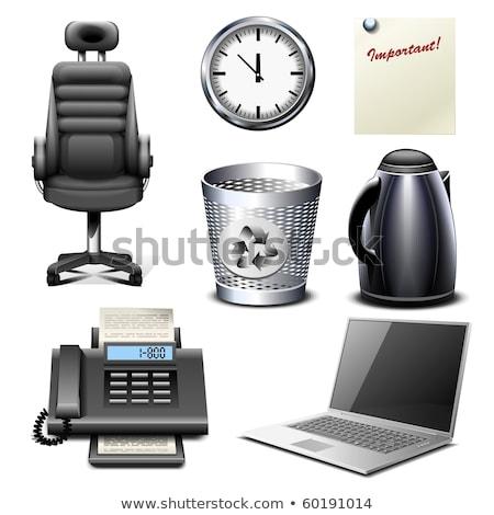 fax · icon · computer · papier · internet · technologie - stockfoto © nasonovicons