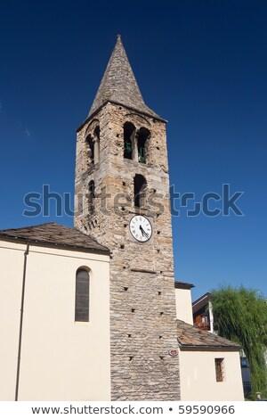 cristão · atravessar · stonewall · igreja · velho - foto stock © antonio-s