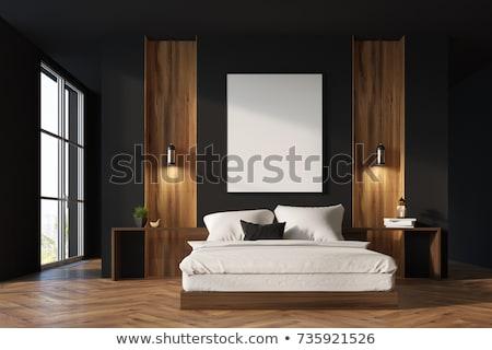 romantische · slaapkamer · interieur · groot · sofa - stockfoto © paha_l