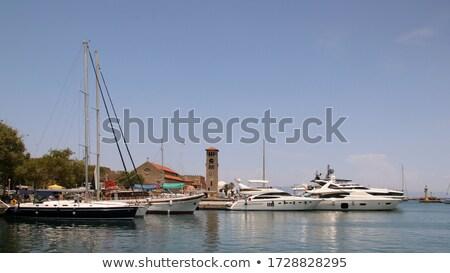 Zee turks kust heldere hemel water Stockfoto © tuulijumala