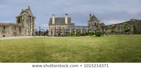 ストックフォト: ��ランスの古い修道院の遺跡