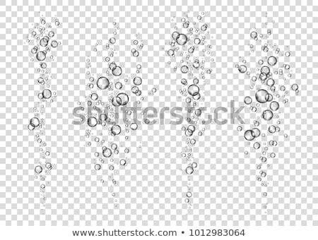sualtı · deniz · kabarcıklar · köpük · güneş · ışığı · rays - stok fotoğraf © otohime