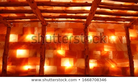 テクスチャ · ミネラル · 壁 · 塩 · 鉱山 · 地下 - ストックフォト © grafvision