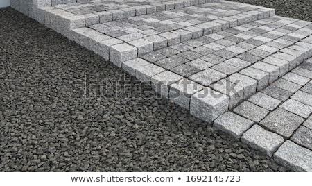 Garden Granite Stone Steps Stock photo © davidgn