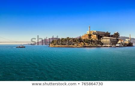 börtön · San · Francisco · víz · város · naplemente · óceán - stock fotó © hanusst