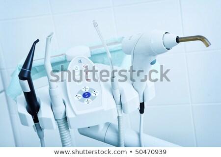 ツール · 歯科 · 歯科 · 介入 · カットアウト · 病院 - ストックフォト © alexonline