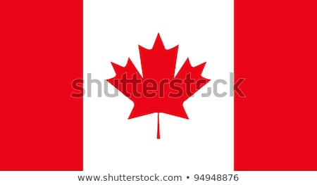 canada flag stock photo © devon