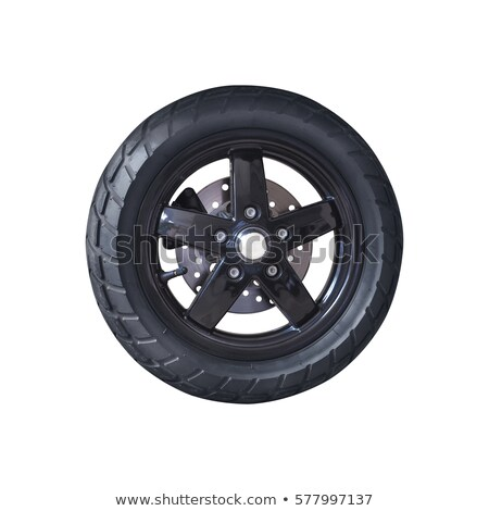 motorcycle wheel brake background in motorbike motorcycle wheel stock photo © artush