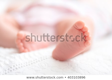 Close-up of Newborn Baby Feet Stock photo © ChilliProductions