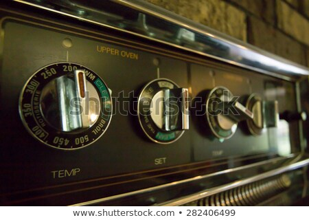 Stove and Oven Knobs Stock photo © AlphaBaby