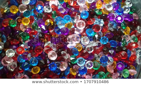 Colorful rhinestones Stock photo © LAMeeks