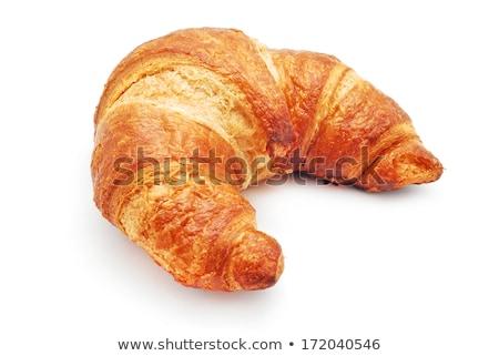 croissant · rollen · geïsoleerd · witte - stockfoto © natika