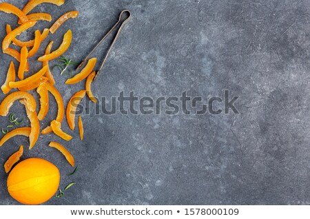 candied preserved whole orange Stock photo © zkruger