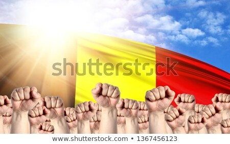 Belgium Labour movement, workers union strike Stock photo © stevanovicigor