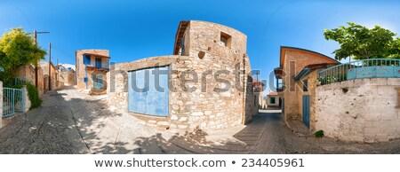 Görmek sokak köy Kıbrıs bölge Bina Stok fotoğraf © Kirill_M