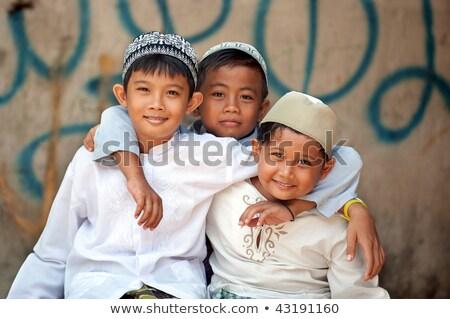 grupy · indonezyjski · Muzułmanin · dzieci · ilustracja · dzieci - zdjęcia stock © tujuh17belas