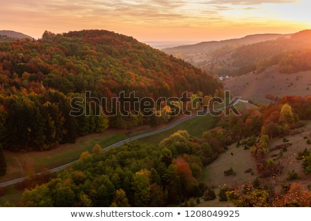 landscape franconia germany stock photo © w20er