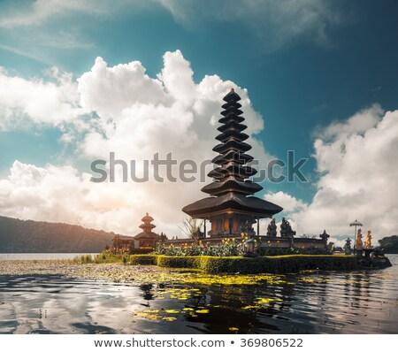 roof of Hindu temple Stock photo © Mikko