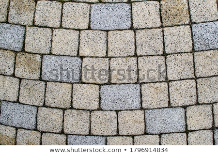 Concrete Pavement Laid as Squares and Rectangles. Stock photo © tashatuvango