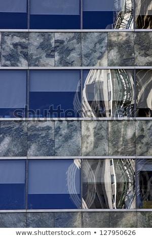 Reflexo centro Buenos Aires palácio outro Argentina Foto stock © lkpro