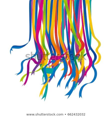set of colored ribbons stock photo © -baks-