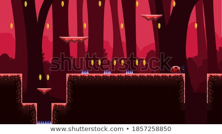 2D Tileset Platform Game 3 Stock photo © papaeiwi