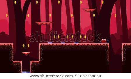 2D Tileset Platform Game 3 Stock photo © papaeiwi